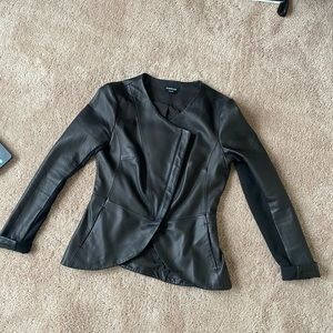 GUC Bebe genuine leather jacket
